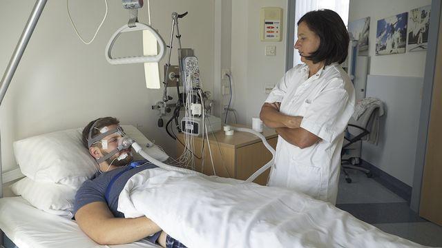 Schlaflabor im Wilhelminenspital