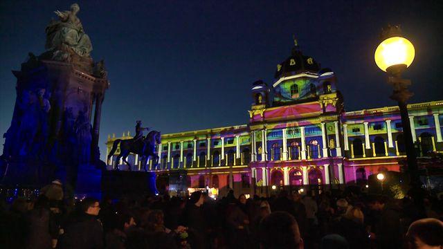 """""""Wien leuchtet 2015"""" –  Beitrag der Stadt Wien zum Internationalen Jahr des Lichts"""