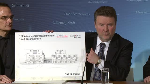 Mediengespräch des Bürgermeisters: Gemeindewohnungen NEU