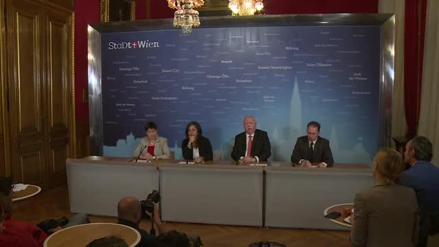 Mediengespräch: StartWien - Programm für Flüchtlinge