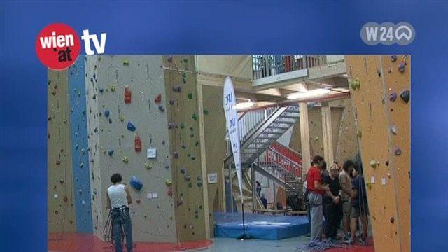 Kletterausrüstung Wien : Mit dem club wien at in die kletterhalle video