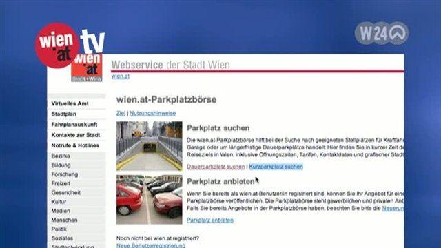 Online-Parkplatzbörse