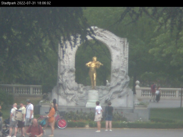 webcam on Rathausplatz, Vienna