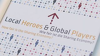 "Hinweistafel zur Konferenz ""Local Heroes & Global Players"""